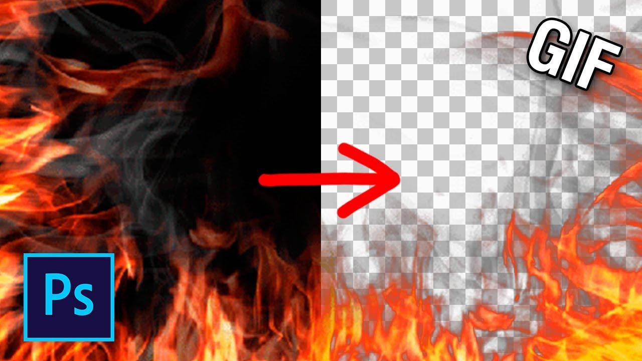 Как удалить фон с гифки в фотошопе